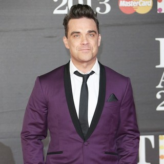 Robbie Williams in The 2013 Brit Awards - Arrivals