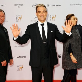 Robbie Williams in Bambi 2013 Awards - Red Carpet Arrivals
