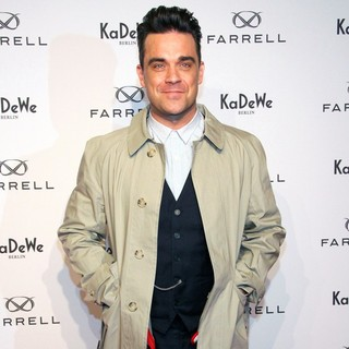 Robbie Williams - The Launch of New Fashion Label Farrell by Robbie Williams