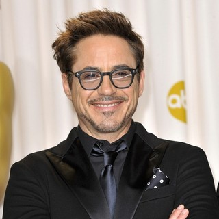 Robert Downey Jr. in The 85th Annual Oscars - Press Room