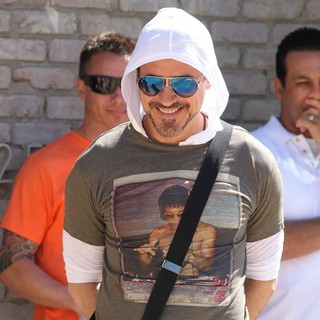 Robert Downey Jr. in Robert Downey Jr. at Joel Silver's Memorial Day Party