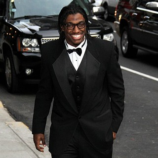 Robert Griffin III in The Late Show with David Letterman - Arrivals