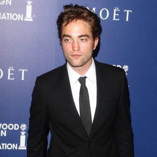 Robert Pattinson in The Hollywood Foreign Press Association's Grants Banquet