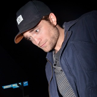 Robert Pattinson in Celebrities Outside The Chateau Marmont for The Katy Perry: Part of Me After Party