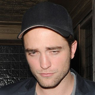 Robert Pattinson in Robert Pattinson Leaves A Restaurant in Mayfair