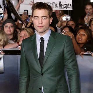 Robert Pattinson in The Premiere of The Twilight Saga's Breaking Dawn Part II