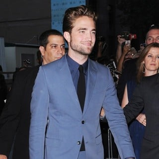 Robert Pattinson in New York Premiere of Cosmopolis - Arrivals
