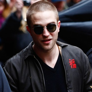 Robert Pattinson in Robert Pattinson Arriving for The Press Conference to Promote His Movie Bel Ami