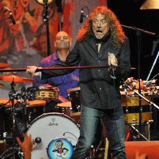 Robert Plant and the Band of Joy Performing Live