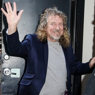 Robert Plant Attends The Late Show with David Letterman