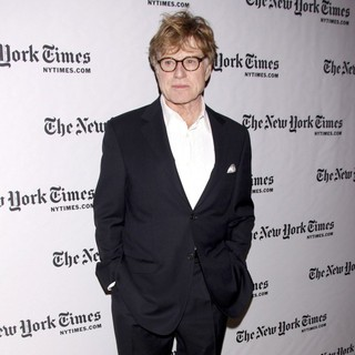 Robert Redford in 10th Annual New York Times Arts and Leisure Weekend Event