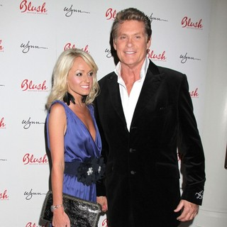 Hayley Roberts, David Hasselhoff in David Hasselhoff Celebrates His Birthday