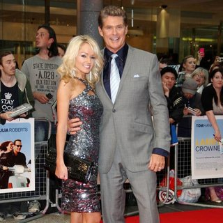 Hayley Roberts, David Hasselhoff in Larry Crowne UK Premiere - Arrivals