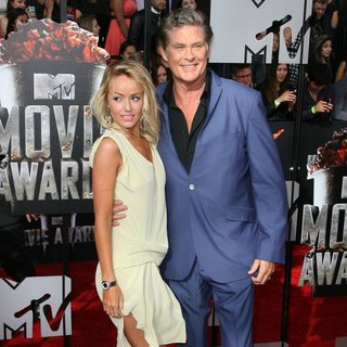 David Hasselhoff - MTV Movie Awards 2014 - Arrivals