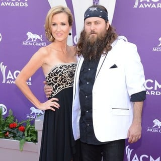Korie Robertson, Willie Robertson in 48th Annual ACM Awards - Arrivals