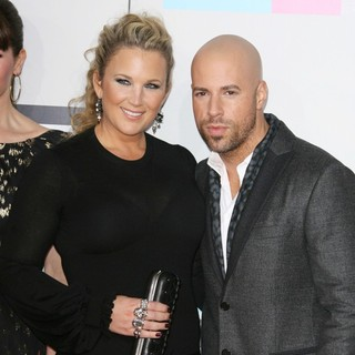 Deanna Daughtry, Chris Daughtry in 2011 American Music Awards - Arrivals
