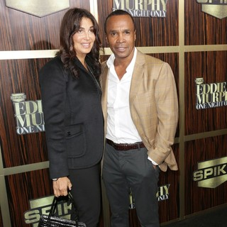 Bernadette Robi, Sugar Ray Leonard in Spike TV's Eddie Murphy: One Night Only