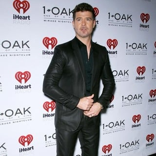Robin Thicke in iHeartRadio Official After Party Hosted by Robin Thicke