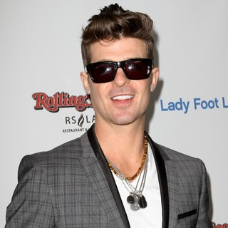 Robin Thicke in Rolling Stone's AMA After Party Sponsored by Lady Foot Locker VIP Program and Ciroc Vodka