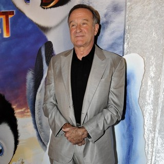 Robin Williams in Happy Feet Two Australian Premiere