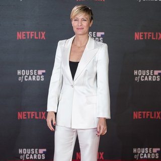 Robin Wright Penn - The World Premiere of House of Cards Season 3