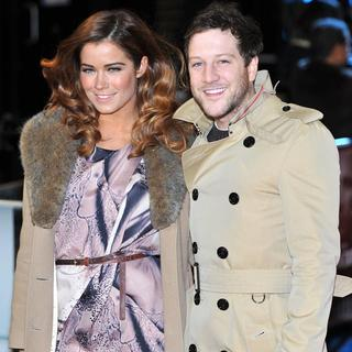 Sarah Robinson, Matt Cardle in The Girl with the Dragon Tattoo - World Premiere - Arrivals