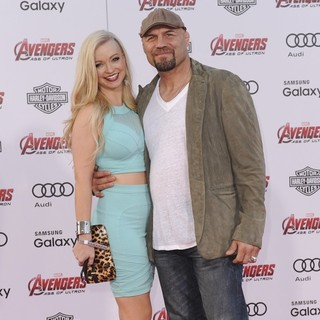 Randy Couture in Los Angeles Premiere of Marvel's Avengers: Age of Ultron - Arrivals - robinson-couture-premiere-avengers-age-of-ultron-01