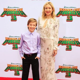 Ryder Robinson, Kate Hudson in World Premiere of Kung Fu Panda 3 - Arrivals