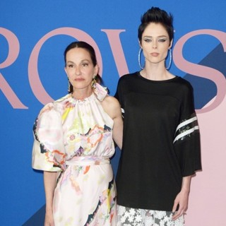 Coco Rocha, Cynthia Rowley in 2017 CFDA Awards - Red Carpet Arrivals