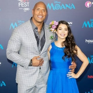 The Rock, Auli'i Cravalho in AFI FEST 2016 - Premiere of Disney's Moana