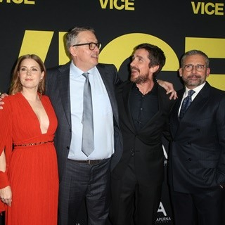 Sam Rockwell, Amy Adams, Adam McKay, Christian Bale, Steve Carell in Vice World Premiere - Arrivals