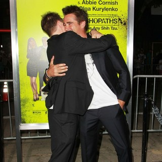 Sam Rockwell, Colin Farrell in Seven Psychopaths Los Angeles Premiere - Arrivals