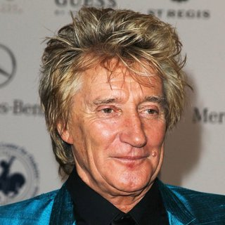 Rod Stewart in 2014 Carousel of Hope Ball Presented by Mercedes-Benz - Arrivals