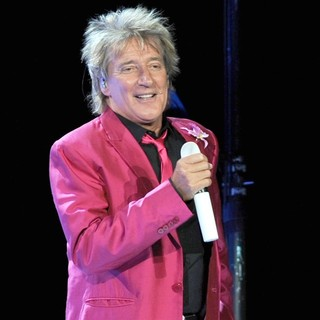 Rod Stewart Performs at The Bank Atlantic Center