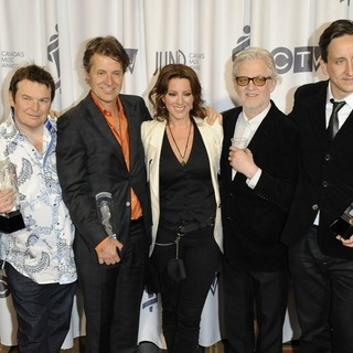 Blue Rodeo, Sarah McLachlan in 2012 JUNO Awards - Press Room