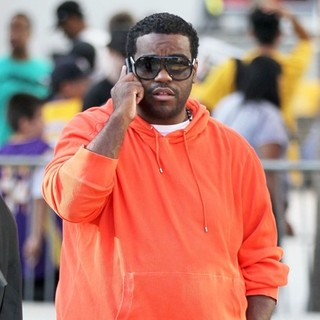 Rodney Jerkins in Celebrities Arriving at The Staples Center to Watch Los Angeles Lakers vs. Boston Celtics Game 1