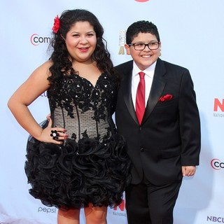 Raini Rodriguez, Rico Rodriguez in 2012 NCLR ALMA Awards - Arrivals