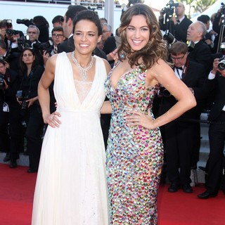 Michelle Rodriguez, Kelly Brook in Killing Them Softly Premiere - During The 65th Cannes Film Festival