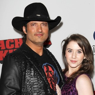 Robert Rodriguez, Marci Madison in Premiere of Open Road Films' Machete Kills
