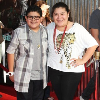 Rico Rodriguez, Raini Rodriguez in Los Angeles Premiere of Real Steel