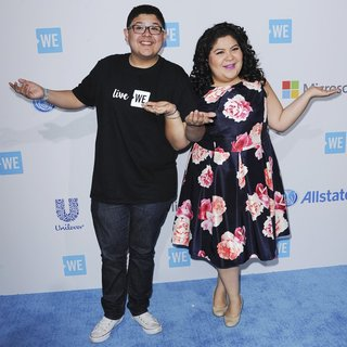 Rico Rodriguez, Raini Rodriguez in We Day California 2016 - Arrivals