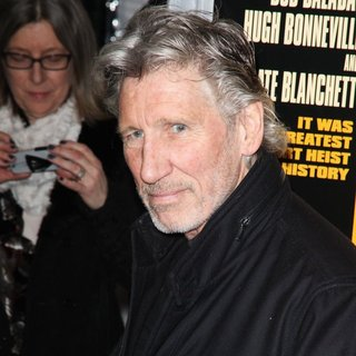 Roger Waters in New York Premiere of The Monuments Men - Inside Arrivals
