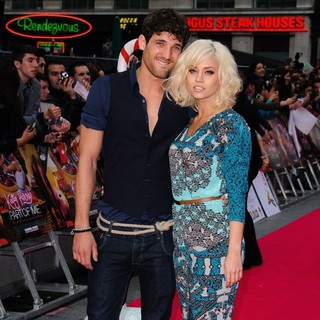 Max Rogers, Kimberly Wyatt in UK Premiere of Katy Perry: Part of Me - Arrivals