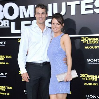 Matthew Rolph, Mary Lynn Rajskub in Los Angeles Premiere of 30 Minutes or Less