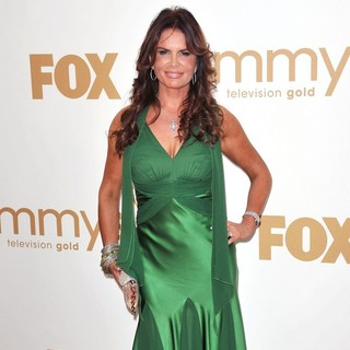 Roma Downey in The 63rd Primetime Emmy Awards - Arrivals