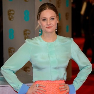 Romola Garai in The EE British Academy Film Awards 2015 - Arrivals