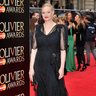 Romola Garai in The Olivier Awards 2013 - Arrivals
