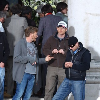 Ron Howard in Filming Takes Place for Rush