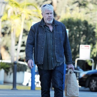 Ron Perlman Grocery Shopping at Gelson's