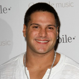 Ronnie Ortiz-Magro in Celebrity Magenta Carpet Arrivals at The Launch Party for Google Music Available on T-Mobile